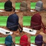 กระเป๋าเป้ LongChamp งานผ้าไนล่อนเกรดดี สีเรียบหรู มีช่องซิบหน้า งานเป๊ะมากคะ ขนาด10นิ้ว เกรดพรีเมี่ยมคะ