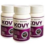 (โปรซื้อ3+แถม1 / ใช้ได้2เดือน) อาหารเสริมลดน้ำหนัก KOVY ™ (โควี่) สูตรลดน้ำหนัก ช่วยลดหิว ทำให้ทานได้น้อยลงในมื้อนั้นๆ พร้อมเร่งเผาผลาญไขมันทั้งเก่าและใหม่ แก้ปัญหาตรงจุด สาวที่อ้วนเพราะกินเก่งต้องลอง !!