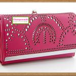 กระเป๋าสตางค์สีชมพู Bag144