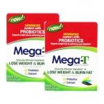( 2กล่อง) Mega-T อาหารเสริมลดน้ำหนัก สูตรใหม่ล่าสุด ช่วยเผาผลาญไขมันสะสม ลดหิว พร้อมช่วยดีท็อกซ์ มาแรงจาก USA รีวิว 5ดาว