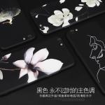 เคสมือถือ Vivo V5 , V5s, V5 Lite -เคสซิลิโคนสกรีนลายดอกไม้ [Pre-Order]