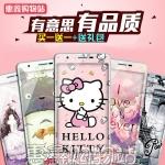 ฟิล์มกระจก Huawei Ascend P9Lite, G9Lite - ฟิล์มนิรภัยพิมพ์ลายการ์ตูนรอบตัวเครื่อง +แถมเคสใส[Pre-Order]