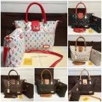 กระเป๋า Louis Vuitton ทรงช็อปปิ้ง 12 นิ้ว ลาย LV คลาสสิก งานสวยสุดๆ เกรดพรีเมี่ยมค่ะ
