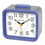 Rhythm Japan Table Clocks นาฬิกาปลุก รุ่น CRA637WR04 - Blue/Grey