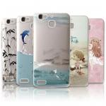 เคสมือถือ Huawei GR3 - Case เคสซิลิโคนนิ่มลายการ์ตูน[Pre-Order]