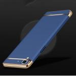 เคส Oppo R7 Lite - เคสประกอบ3ขิ้น ขอบทอง [Pre-Order]