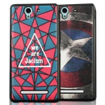 Sony Xperia C3- Cartoon Silicone Case [Pre-Order]