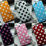 Sony Ericsson X12, Arc, Arc S- Polka Dot Jelly case 2 [PreOrder]