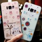 เคสมือถือ Samsung Galaxy S8 เคสซิลิโคนสกรีนลายนููน3D [Pre-Order]