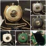 กระเป๋า Chanel แบบตลับ ทรงนาฬิกาพก สายสะพายโซ่ งานเป๊ะ พลาสติกอย่างดี 7 นิ้ว เกรดพรีเมี่ยมค่ะ