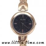 Alba นาฬิกาข้อมือผู้หญิง สายสแตนเลส รุ่น AH8326X1 (สีพิงค์โกล์)