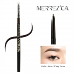 **พร้อมส่ง**Merrez'ca Perfect Brow pencil #Deep Brown