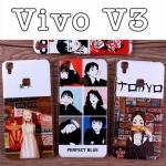 เคสมือถือ Vivo V3- เคสแข็งพิมพ์ลายการ์ตูน #4(พรีออเดอร์)