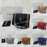 กระเป๋า Yves Saint Laurent เย็บลายนวม V Shape ขนาด 12 นิ้ว เกรด premium