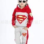 พร้อมส่งค่ะ ชุดเช็ตเท่ห์ Super man ค่ะ เสื้อ+กางเกง ผ้านิ่มดีมากค่ะ เหลือไซส์ 120/140/150