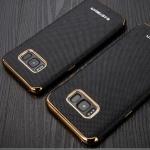 เคสมือถือ Samsung Galaxy S8 เคสซิลิโคนขอบทอง [Pre-Order]