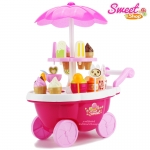 รถขายไอศกรีม Sweet Shop Luxury Candy Cart 39 ชิ้น