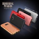 เคสมือถือ Samsung S7edge- เคสขอบโลหะ LUPHIEแท้ ฝาหลังหนังเทียม [Pre-Order]