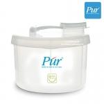 กล่องแบ่งนมผง 3 ช่อง Pur Milk Powder Container