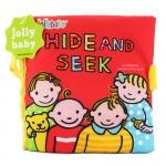 หนังสือผ้า Hide and seek