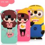 เคส HTC M9 - Minion silicone case [Pre-Order]