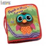 0847 -- หนังสือผ้า Peek-a-Boo Forest
