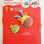 หนังสือผ้าสอดนิ้ว 3 มิติ [Puppet Activity Book]