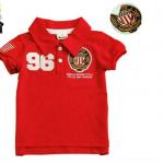 พร้อมส่งค่ะ เสื้อเด็กโปโลสุดเท่ห์ Embroidery polo shirt มี 3 สีค่ะ เหลือไซส์ 130