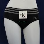 ชุดชั้นในผู้หญิง CK สีดำ ขอบ 3 แถว