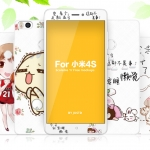 ฟิล์ม Xiaomi MI4s - ฟิล์มกระจกลายการ์ตูน แถมเคสพิมพ์ลายเดียวกัน (พรีออเดอร์)