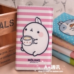 Sony Xperia S,SL - เคสฝาพับ Molang [Pre-Order]