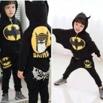 พร้อมส่งค่ะ ชุด Bat man สุดเท่ห์ งานสวยค่ะ สินค้าเหมือนในรูปค่ะ เท่ห์สุดไปเลย เหลือไซส์ 100=2ชุด/110/120/130=2ชุด/140