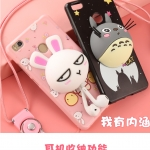 เคสมือถือ Xiaomi MI4s - เคสซิลิโคน หมี3D เก็บสายหูฟัง + ตั้งได้ (พรีออเดอร์)