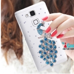 Huawei Ascend Mate7 - Crystal jewelry hard Case [Pre-Order]