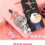 เคสมือถือ Huawei Ascend Mate9 - เคสซิลิโคน ตัวการ์ตูน พับเก็บหูฟังได้ [Pre-Order]