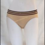 ชุดชั้นในผู้หญิง Calvin Klein สีน้ำตาลมีลายเส้น ที่ขอบ