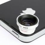 2 in 1 Wide & Macro Lens (เลนส์มุมกว้าง และเลนส์ขยาย)