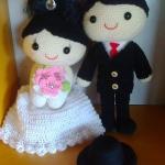 คู่แต่งงาน 12นิ้ว