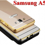 เคส Samsung Galaxy A5 - Metal Frame +PC Cover Case ขลิบทอง [Pre-Order]
