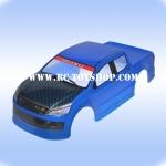 บอดี้รถบังคับ1/10 อีซุซูฝากระโปงเคฟล่า(สีฟ้า)