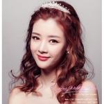 M-0118 เทียร่าเจ้าสาว เครื่องประดับเจ้าสาว สวยหวานหรู สไตล์เกาหลี