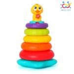 ห่วงเรียงซ้อนเป็ดน้อย Huile Stacking Rainbow Duck