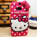 เคส HTC One2 (M8) - Kitty silicone case [Pre-Order]