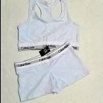ชุด SET BRA CK พร้อมกางชั้นใน เข้าชุด สีขาว