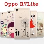 เคส OPPO R7 Lite - เคสนิ่มพิมพ์ลายการ์ตูน#2 [Pre-Order]