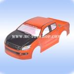 บอดี้รถบังคับอีซูซุ1/10ฝากระโปงเคฟล่า(สีส้ม)