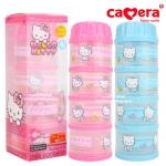 ที่แบ่งนมผง 4 ชั้น Hello Kitty Camera milk container