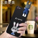 เคสมือถือ Vivo Y53 -เคสซืลิโคนกระต่าย3D[Pre-Order]