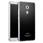 เคสมือถือ Huawei Mate8 - ฝาหลังเคลือบกระจกกันรอยช่วน ขอบโลหะ [Pre-Order]