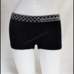 ชุดชั้นในผู้หญิง CK BOXER สีดำขอบลายจุด